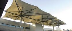 PVDF Tensile Fixed Umbrella