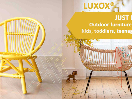 JUST IN! Outdoor furniture for kids, toddlers, teenagers