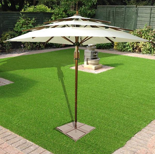 Garden Umbrella Transcend - centre pole - multi tier