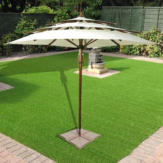 Garden Umbrella Transcend - centre pole - multi tier