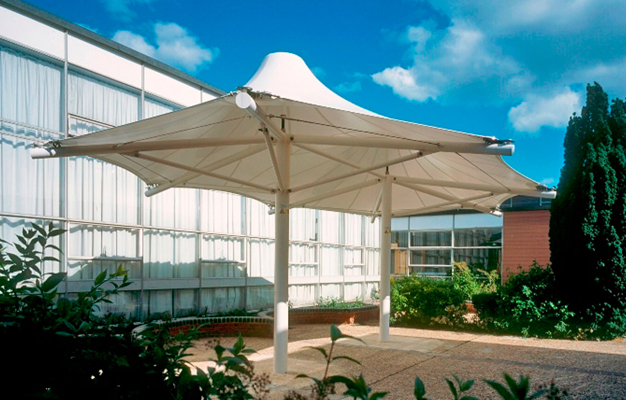 Heavy Duty PVDF Tensile Umbrella