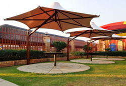 PVDF Tensile Conical Umbrella