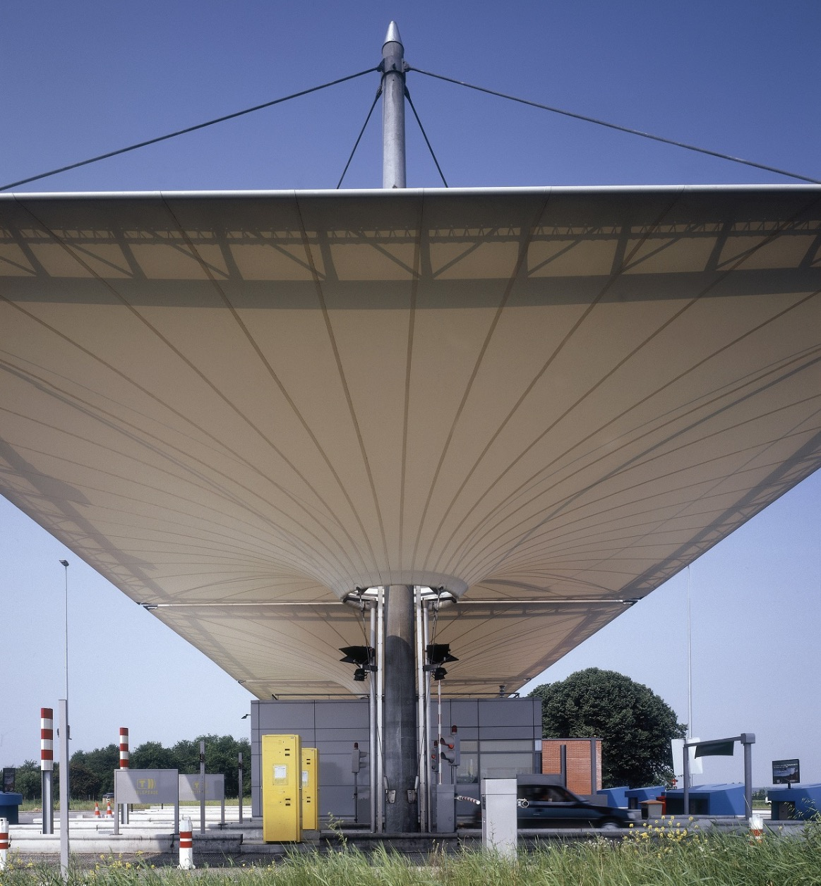 INVERTED CONE TENSILE TOLL GATE