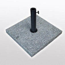 Umbrella base square Granite