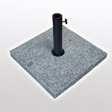 Umbrella base square Granite