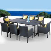 Outdoor Wicker Garden Dining Set - Canella