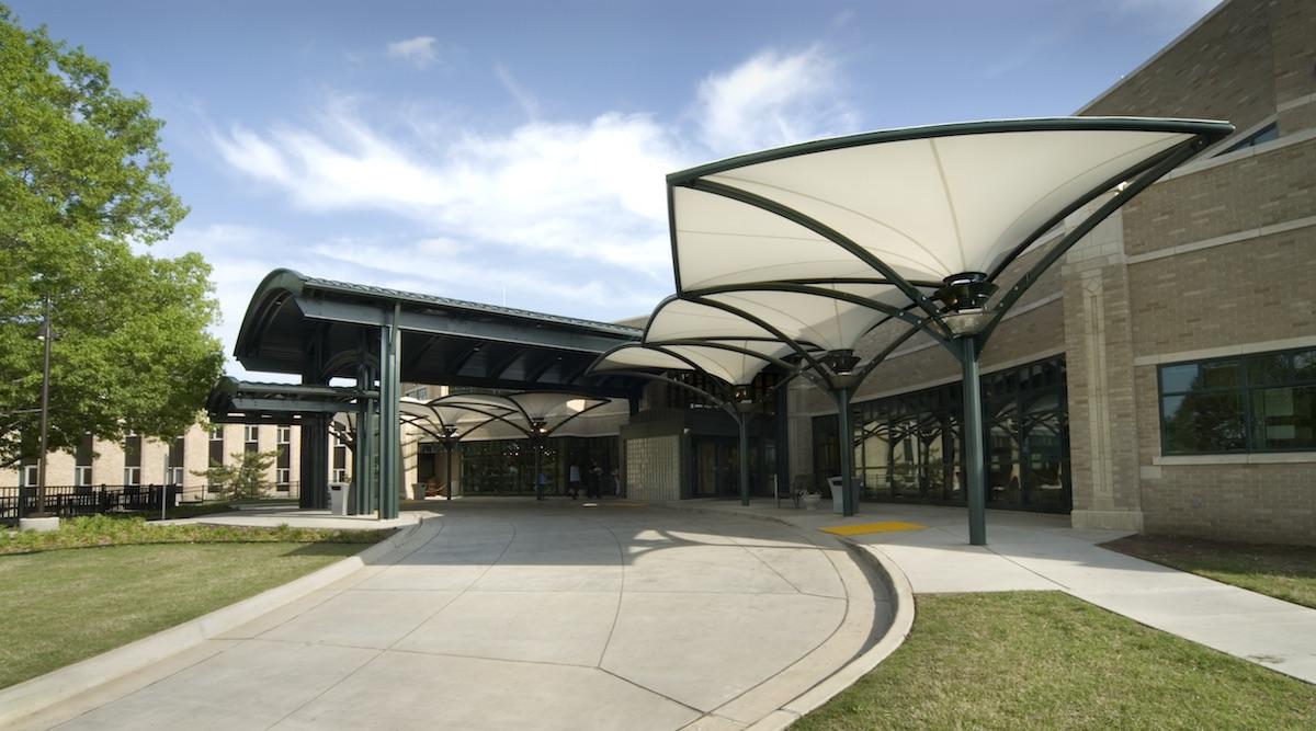 PVDF Tensile Membrane Entrance