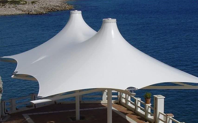 PVDF Tensile Fixed Umbrella