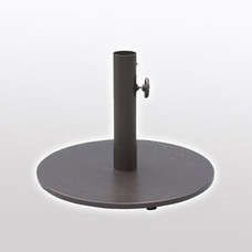Outdoor Fixture - Umbrella - Base - Iron -Square - Iron