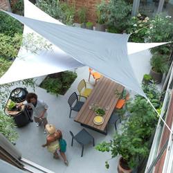 Tensile Sail Cafeteria Shade