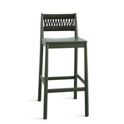 Outdoor Braided & Rope Bar Chair - Transat 908
