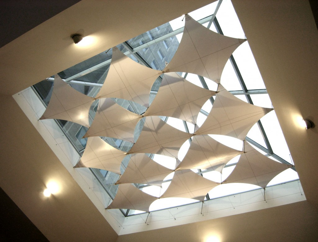 PVDF Tensile Membrance Mall Atrium