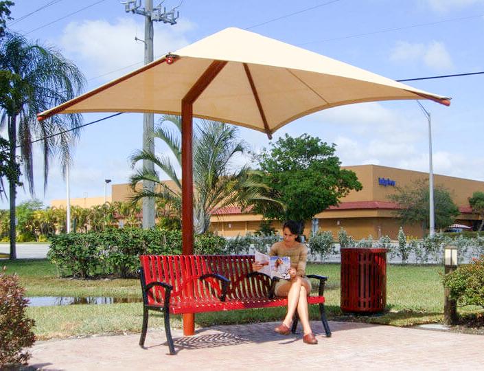 Tensile Membrane Park Umbrella
