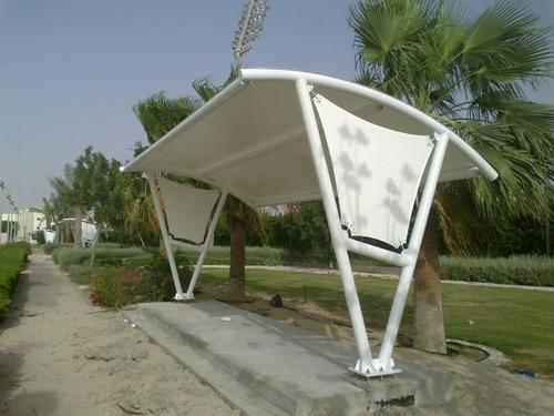 Tensile Arc Bust Stand