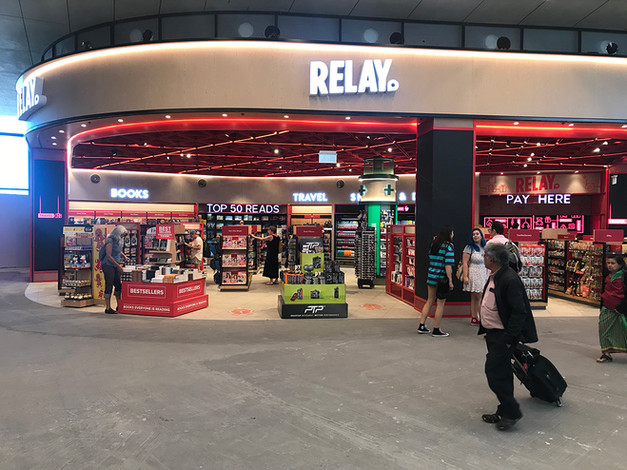 Relay, Sydney Domestic Airport