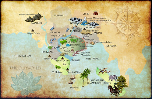 The Map of the Old World