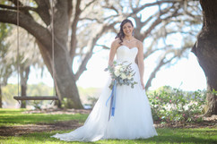 Bride by the Swing