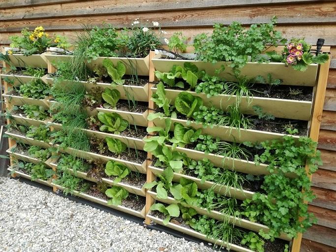 Wandgarten Vertikalbeet