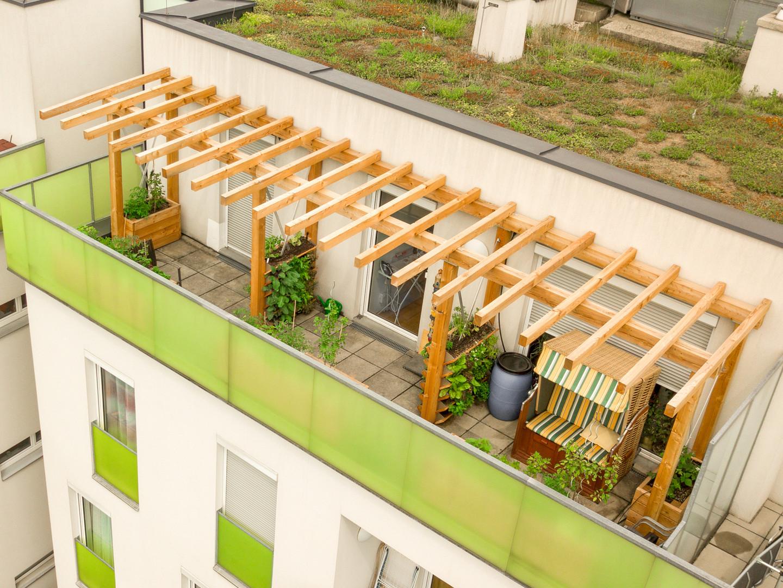 Klimaterrasse Dachterrasse
