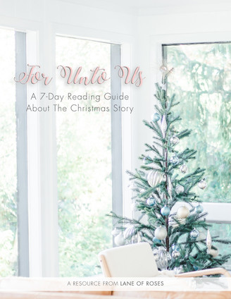 For Unto Us: A 7 Day Christmas Story Reading Plan
