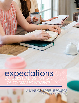 Expectations: Do Ours Lead Us to Hope or Disappoinment?