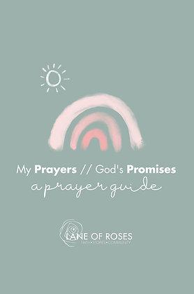 My Prayers//God's Promises Prayer Guide