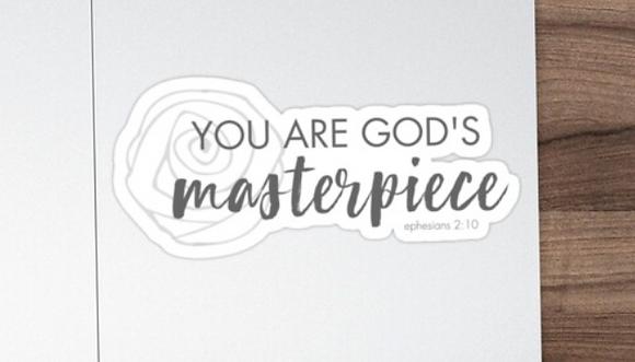 Masterpiece Sticker