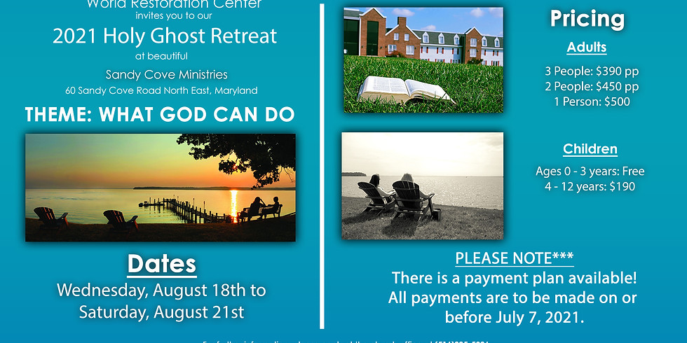 2021 Holy Ghost Retreat