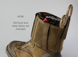 AFAK on boot rear angle - Items not Included