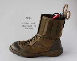 AFAK left side on boot -items not included