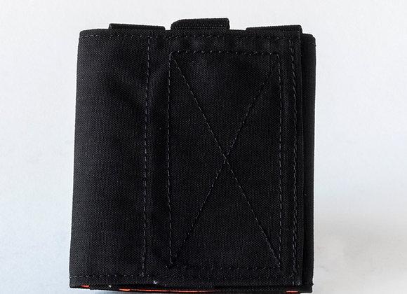 Black with Orange CS pouch