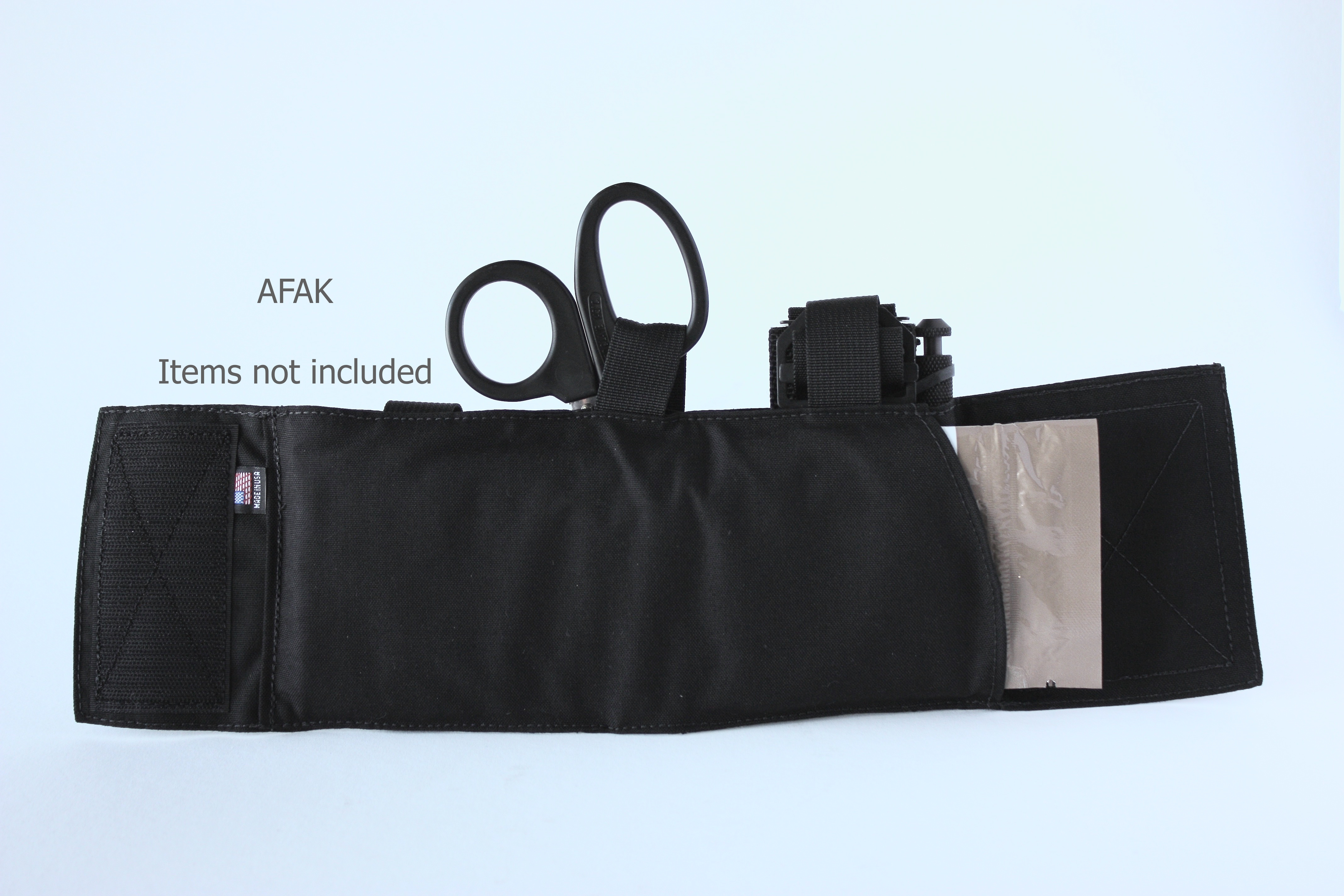 Black AFAK rear items