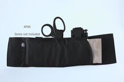 Black AFAK rear items