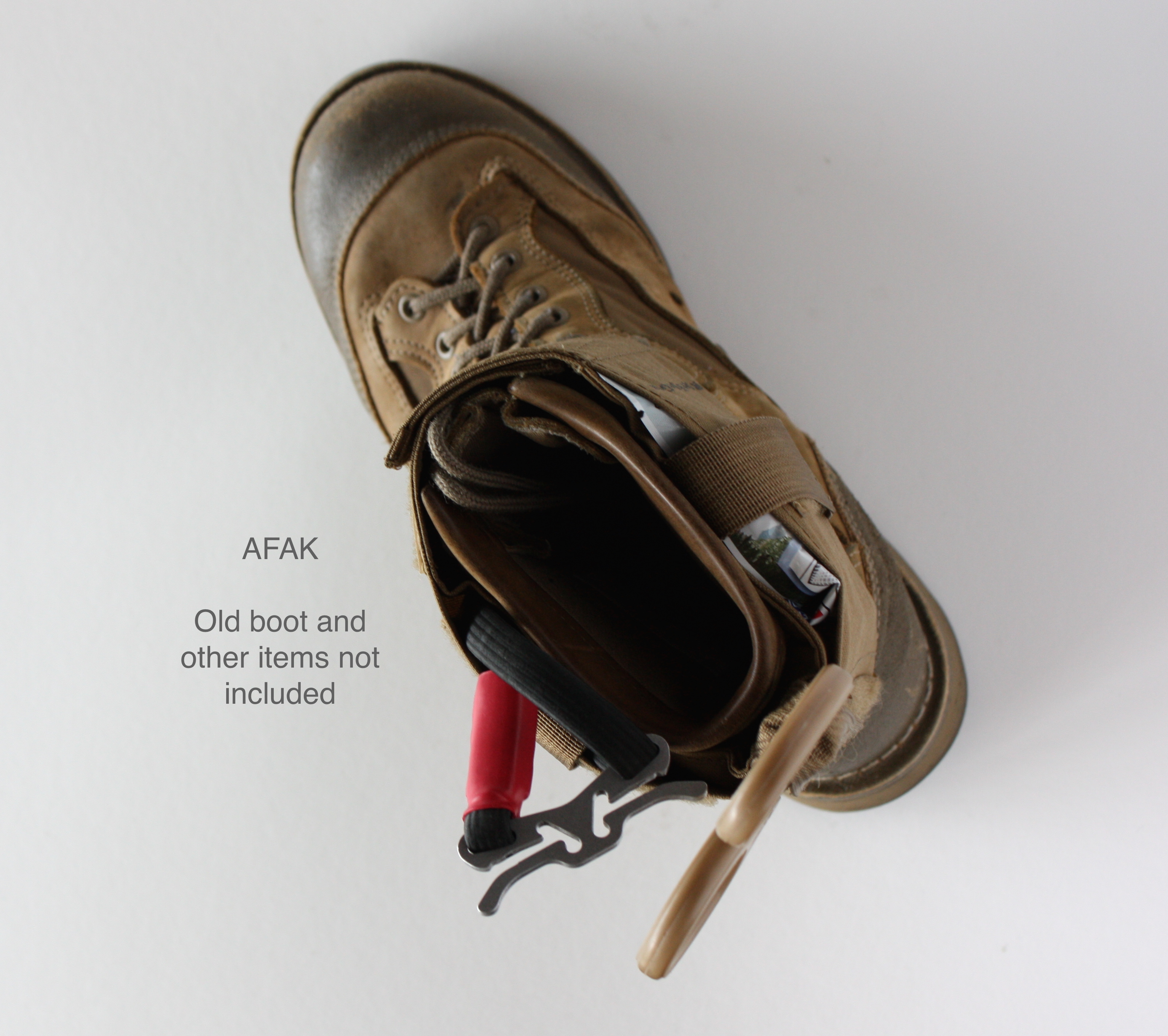 AFAK on boot top - Items not Included