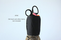 Black AFAK on boot 2