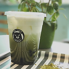Matcha Milk Latte or Almond Milk Latte