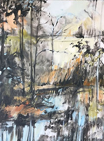 Cain3_Reconsideration_acrylic on canvas.