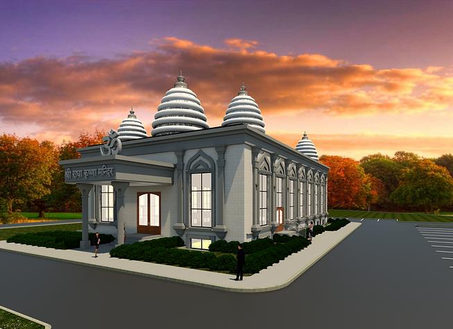 New Radha Krishna Mandir