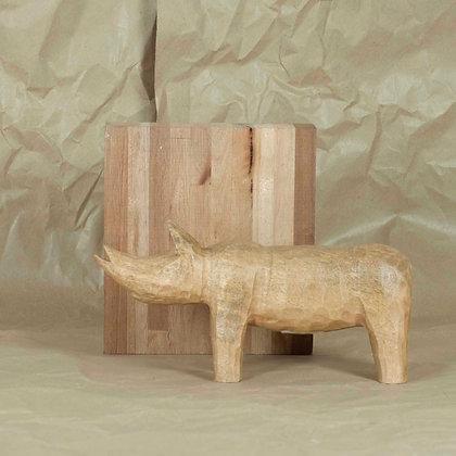 Talla de madera animal handmade