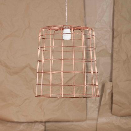 Lampara Basket copper