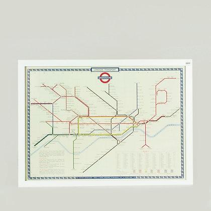 Cuadro london underground