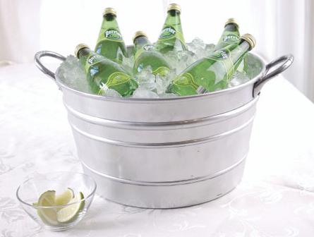 Champagne con azas lisa