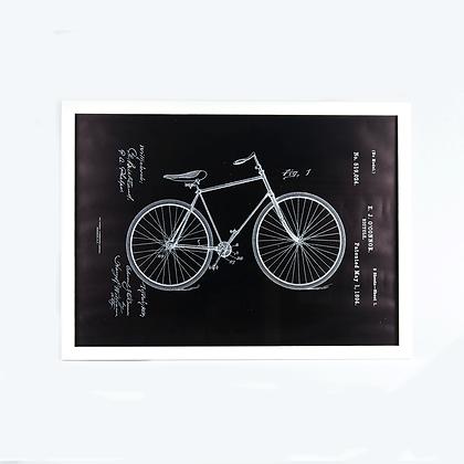 Cuadro Patente bici