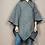 Thumbnail: Ruana de lana negra
