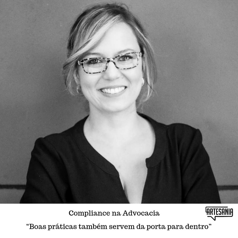 Roberta Codignoto, especialista em Compliance.