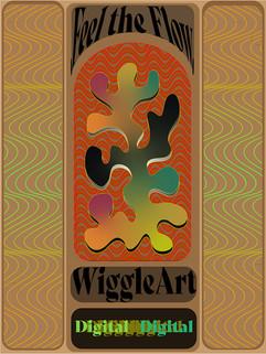 Feel The Flow WiggleArtDigital