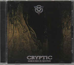 Encryption ‎– Shrouded In Mystery (Has Sticker covering old Cryptic band name)