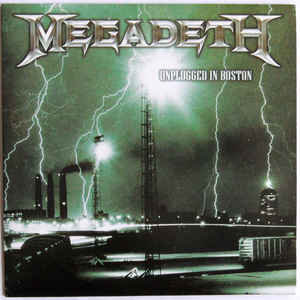 Megadeth ‎– Unplugged In Boston (Live Acoustic Set, Sealed)