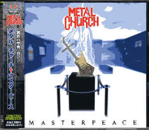 Metal Church ‎– Masterpeace (With OBI)