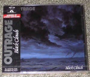 Outrage – Black Clouds (1991 Re-issue, With OBI)